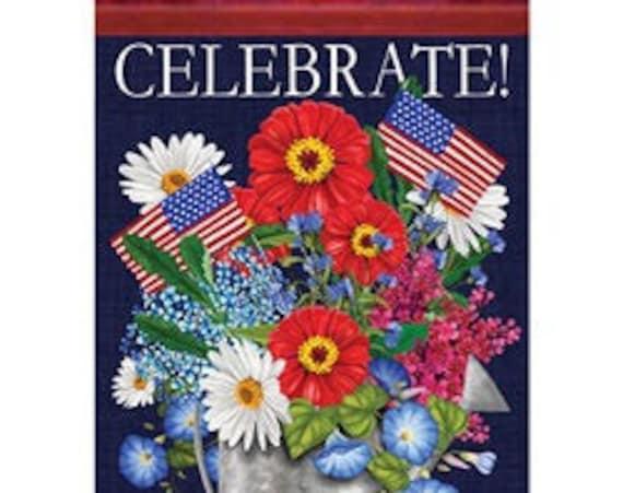 Summer Flag, Patriotic Flag, Celebration  Flag, Garden Flag,