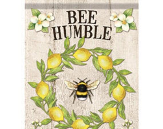 Bee Kind Bumble Bee House  Flag-, Summer Bee Flag, Summer House Flag