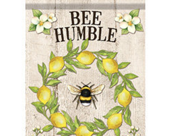 Bee Kind Bumble Bee House  Flag-, Summer Bee Flag, Summer House Flag