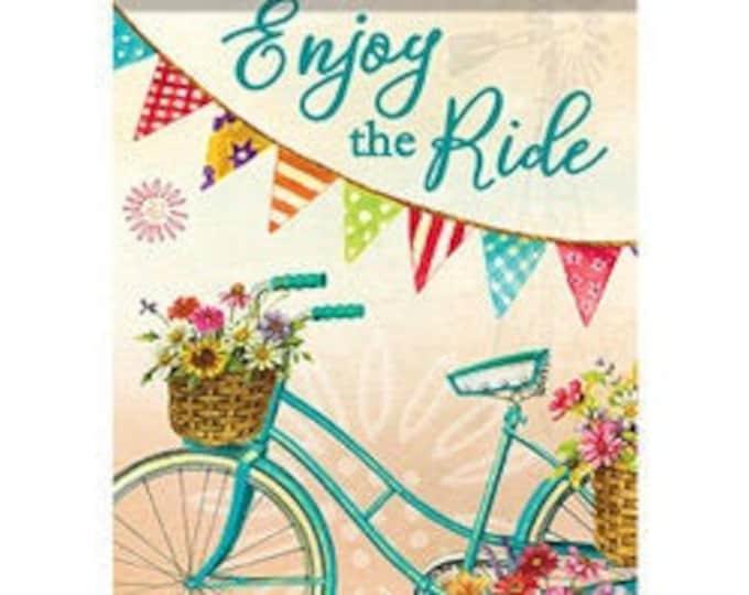 Bicycle Garden Flag, Spring Flag, Summer Flag,