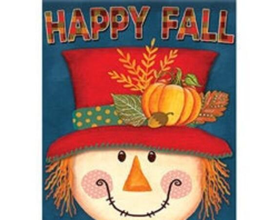 Scarecrow Flag, Fall  Flag, Garden Flag, Fall Garden Flag,