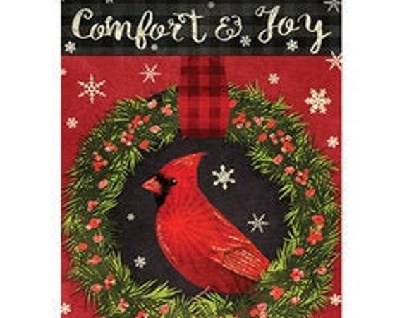Cardinal House Flag, Christmas Flag,