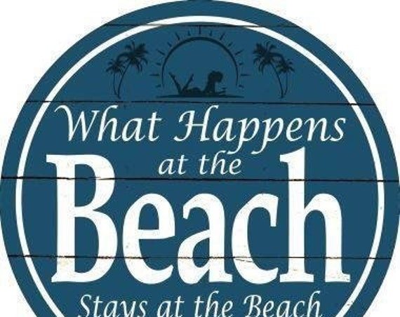 Beach Sign, Metal Sign, Summer Sign , Sign For Wreaths, Wall Sign,