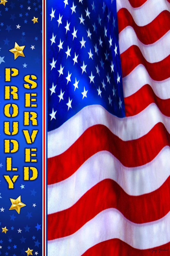 Military Flag, Veterans Day Flag, Soldier Flag, Garden Flag, July 4th Flag, Memorial Day Flag,