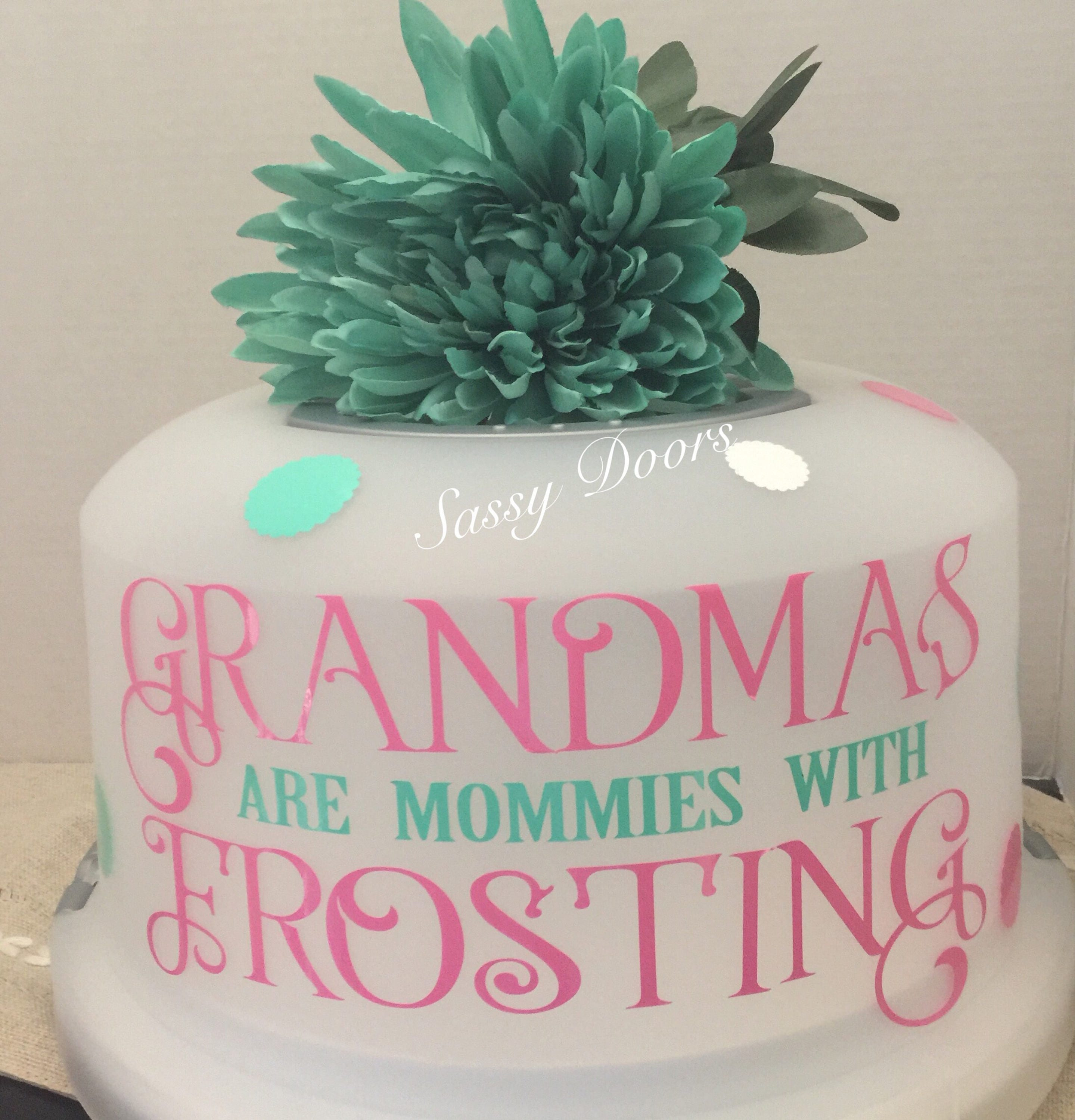 free shipping cake cover cake carrier grandparents gift gifts for mom gift for her bridal shower personalized gift