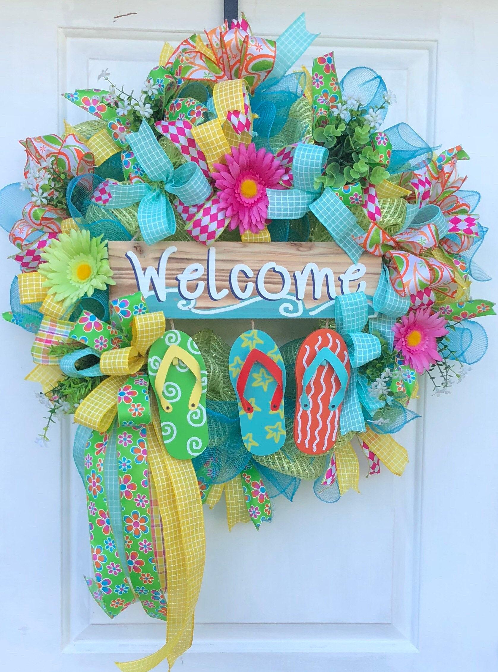 4be2c8c3428bea Summer Wreath