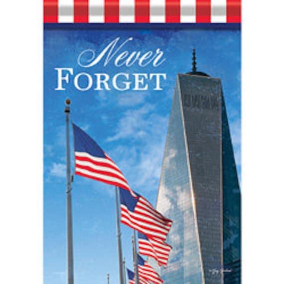 Patriotic Garden Flag- 9/11  Patriotic Flag- 9/11Garden Flag