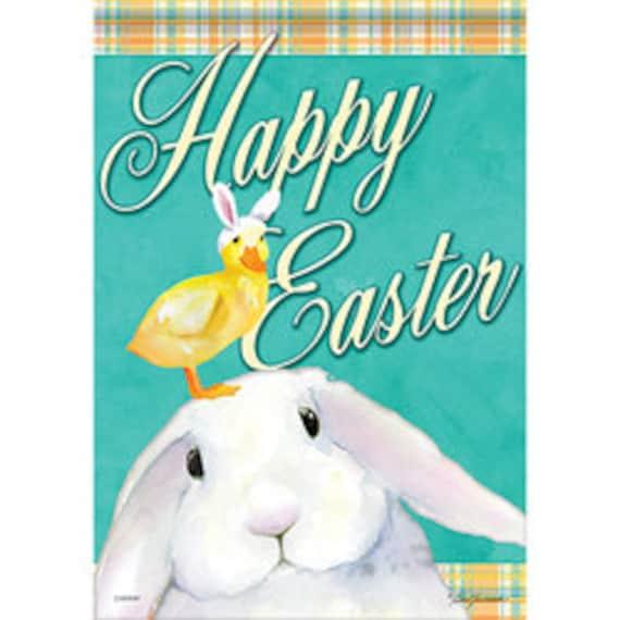 Easter Pal's  House Flag, Easter Flag, Easter Bunny Flag, Chick Easter Flag