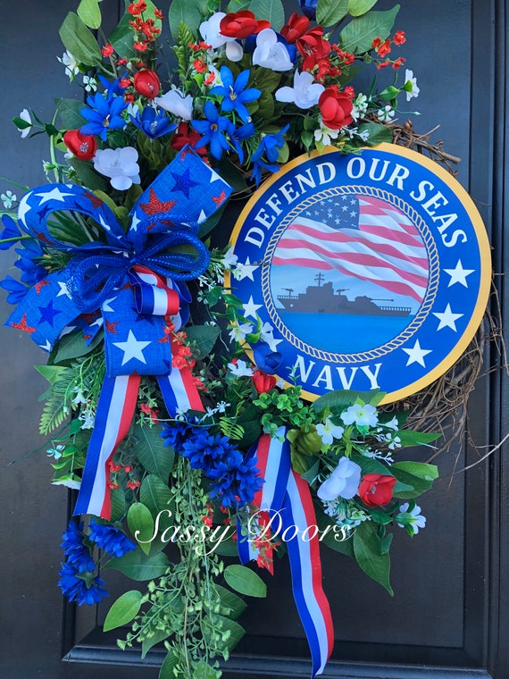 Military Front Door Wreath, Armed Forces