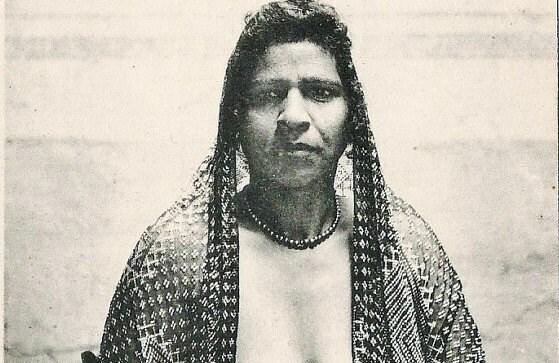 Mature Antique Unused Postcard Ca 1920 Egyptian Woman  Etsy-9744