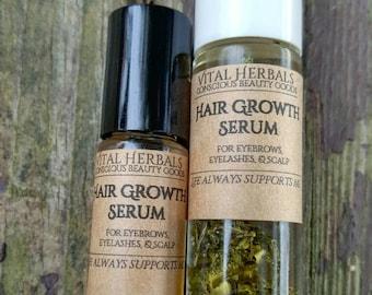 Hair Growth Oil-Hair Elixir Oil-Hair Growth Serum-Thinning Hair-Natural Hair Growth Products-Eyebrow Eyelash Growth-Hair Serum-Herbal Hair