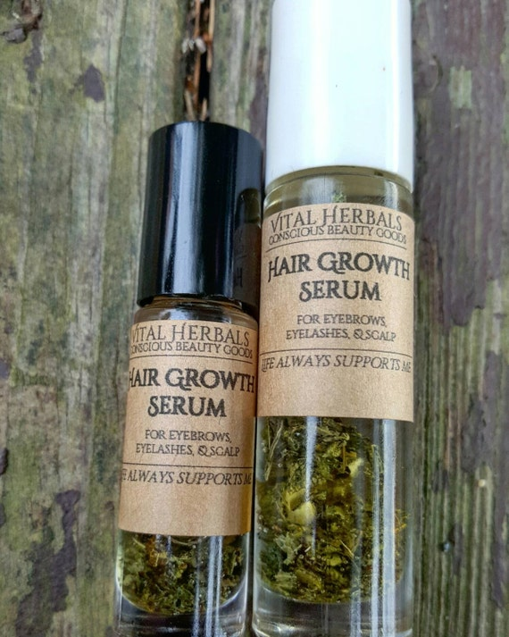 Hair Growth Serum Serum Eyebrow Growth Eyelash Growth Etsy