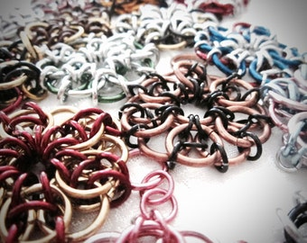 Chainmail Celtic Star Assorted Styles