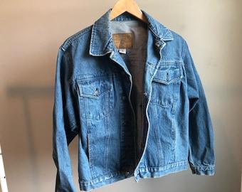 Vintage 90s Jean Jacket Medium Wash