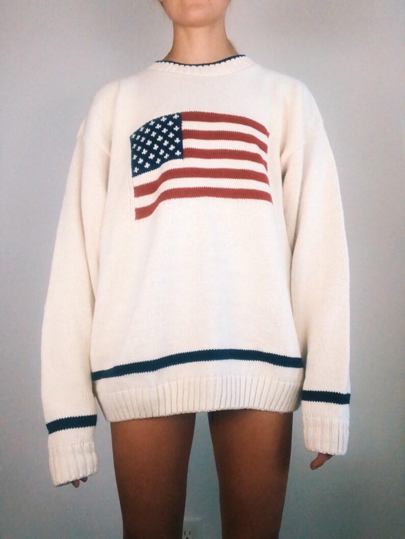 American Cotton Knit Sweater