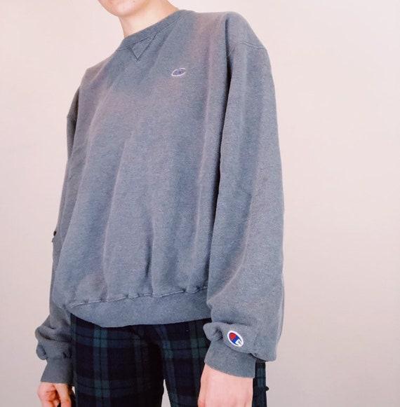 Charcoal Grey Champion Sweatshirt
