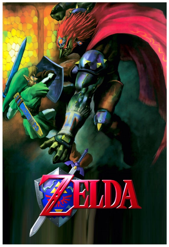 Ocarina Of Time Ganondorf Battle Poster 13x19