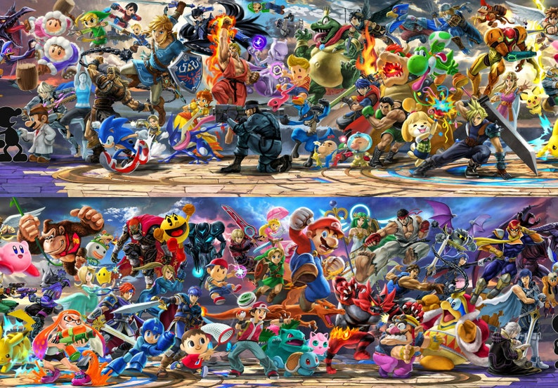 Smash Bros Rosters Favourites – I Gold