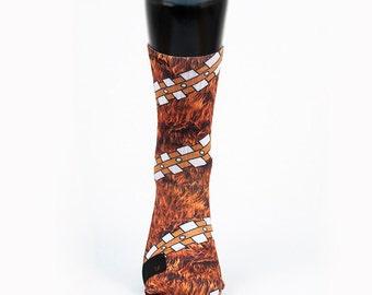 2dda6f6ef43c CHEWIE - Custom Notion Socks - Star Wars WOOKIE