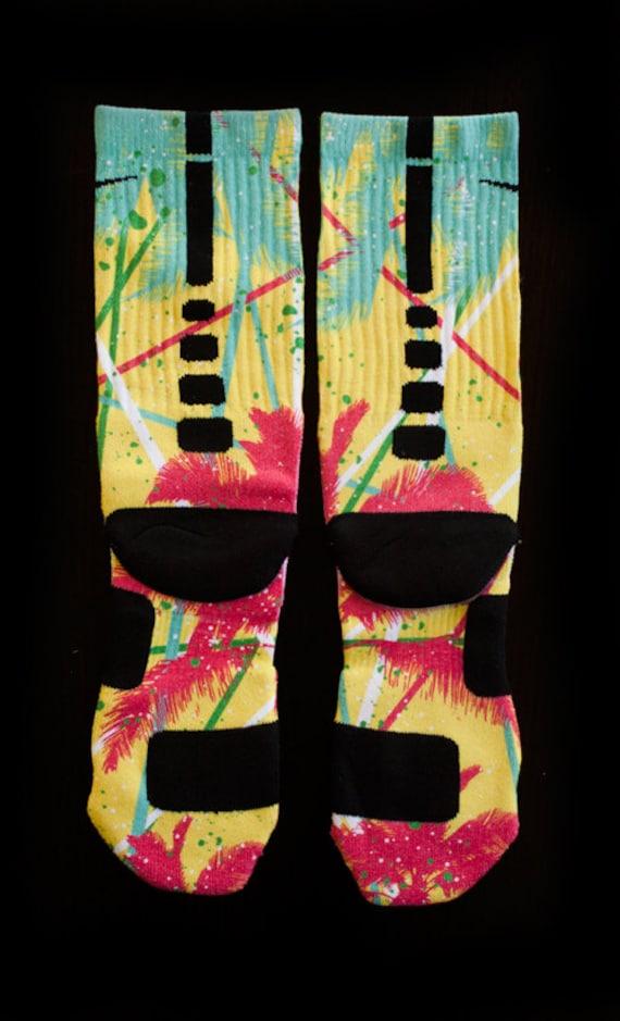 ff5f78b538c7 Custom Nike Elite or Notion Socks for Lebron 10 Arnold Palmers