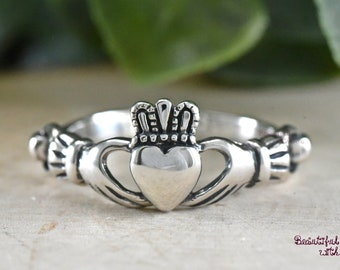 Claddagh Ring Etsy