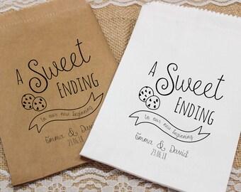 Wedding cookie bags | Etsy
