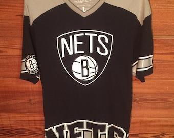 90f47f7ef Mitchell & Ness   Brooklyn Nets V-neck (L)