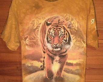 Other Big Face Tribal White Tiger T Shirt Child Unisex Mountain Latest Technology