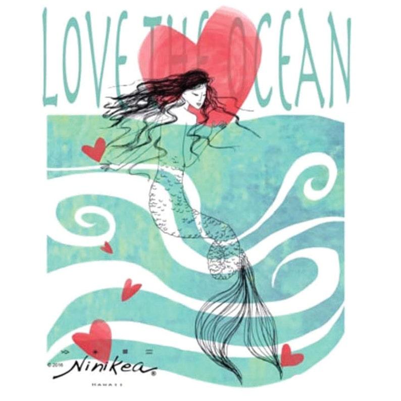 Baby T-shirt Mermaid-Love Toddler T-shirt Kid t shirt image 0
