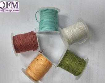 1 spool (25 meters) of Cotton Cord Multipurpose 2.5 mm - cotton cord