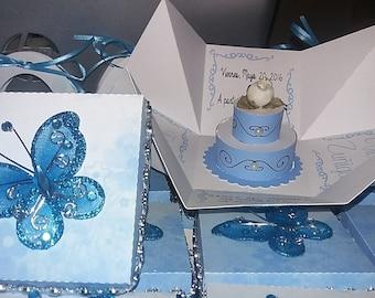 exploding box invitation etsy