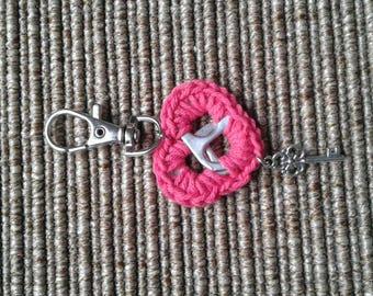 Beautiful key to my heart Keyring