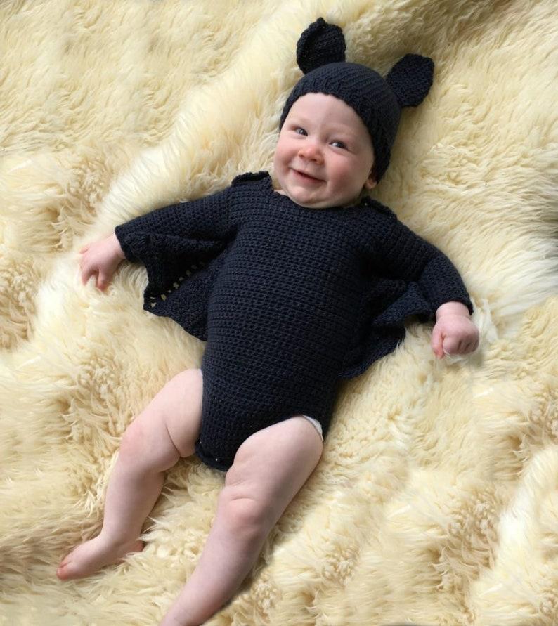 Baby Bat Costume Crochet Pattern image 0