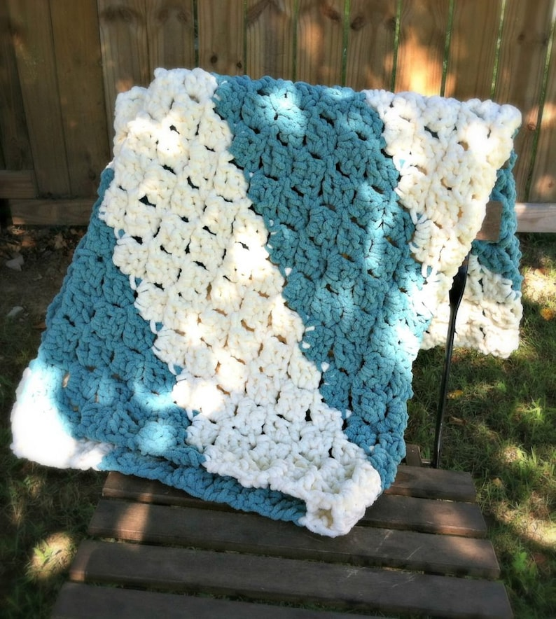 Quick and Easy Baby Blanket Pattern image 0