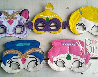 Shimmer and Shine mask set