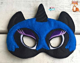 Nightmare Moon, My Little Pony inspired mask.