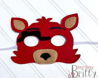 Five nights at Freddy's inspired Foxy Mask
