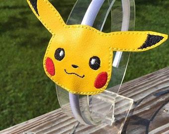 Pokemon, Pikachu inspired headband
