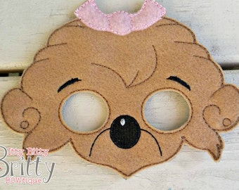 Berenstain bears, Sister bear inspired mask