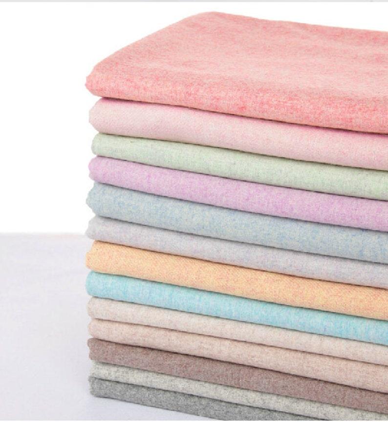 Flannel fabric/Wool Flannel Fabric/ Wool fabric / Winter image 0
