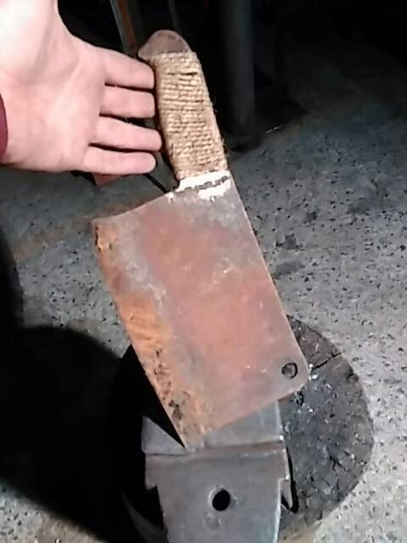 Post-apocalyptic butcher/'s axe
