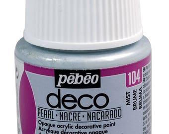 Pebeo Deco Interior & Craft PEARL Finish Paint 45ml