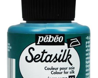 Pebeo Setasilk Silk Fabric Paint 45ml Colours & 20ml Gutta