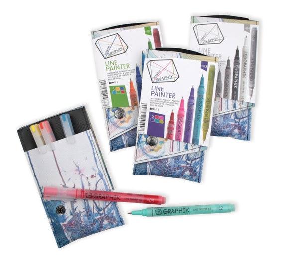 Derwent Graphik Line Maker Pen Sepia 0.5mm
