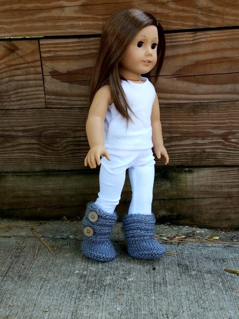 doll shoes doll accessories 18 inch doll clothes Doll Slippers Instant Download pdf Oh So Plush Doll Slippers Crochet Pattern Only