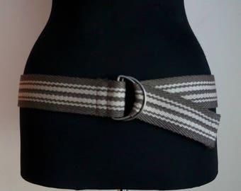 Canvas belt | Etsy