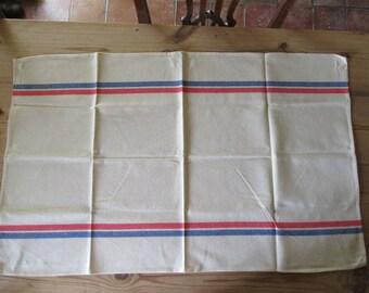 Tea cloths Six tea towels Linen towels French vintage French linen Large size tea cloths Bar cloths Hygge comfort Farmhouse kitchen.
