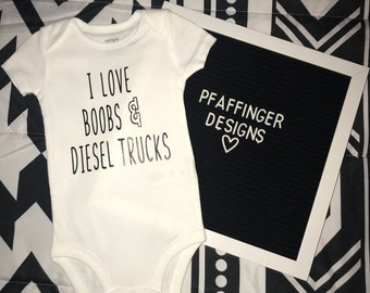 0336aa67c7b7 Boobs onesie