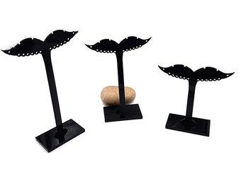 3 Présentoirs Boucles d oreilles Forme Moustache ce01003684b