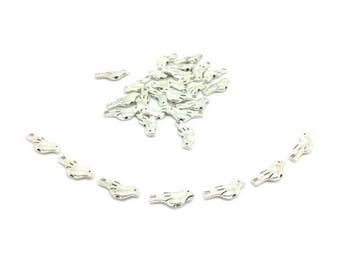 30 beads spacer Dove